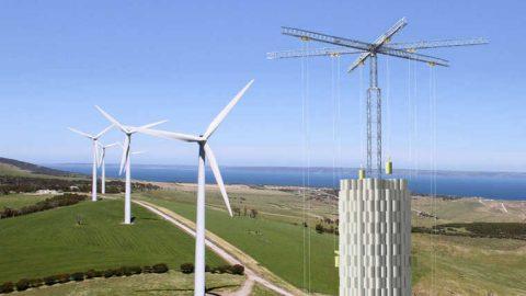 Dalla startup svizzera Energy Vault arriva lo stoccaggio energetico nel cemento