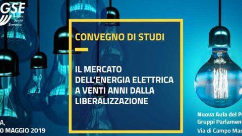 """Convegno """"Il mercato dell'energia elettrica a venti anni dallaliberalizzazione"""",Roma, 29 e 30 maggio 2019."""