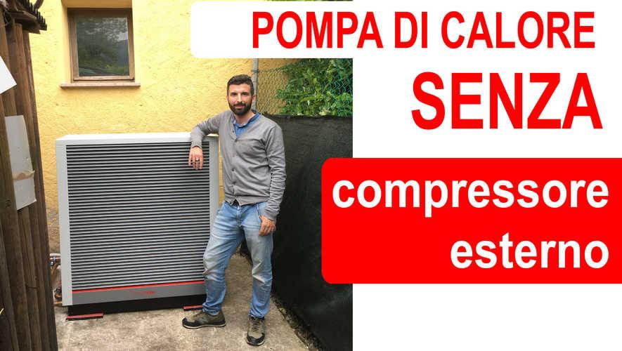 Pompa di calore senza compressore esterno