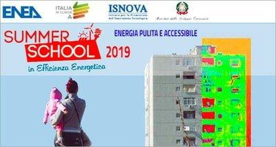 Summer School in Efficienza Energetica 2019 a Roma, 24 - 28 giugno 2019