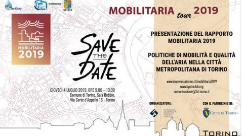 MobilitAria Tour 2019, Torino, 4 luglio 2019