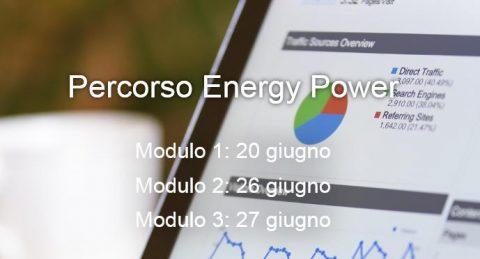 Corso Percorso Energy Power, Bologna, 20, 26, 27 giugno 2019