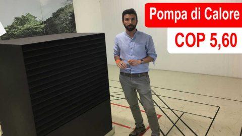 COP 5,60 per una pompa di calore: presenta l'ing. Samuele Trento