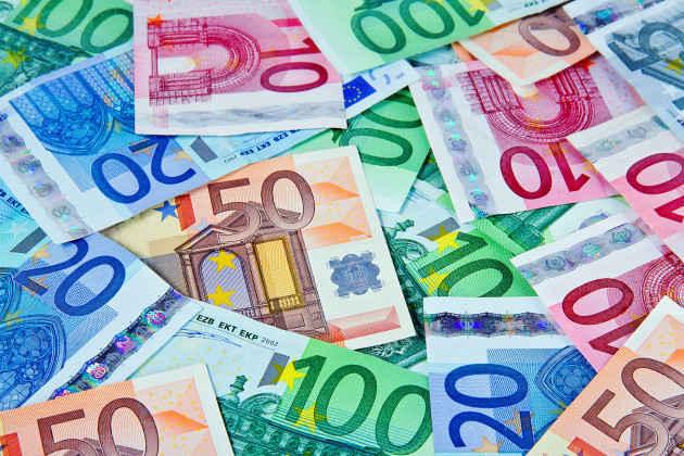 Soldi, denaro, Euro