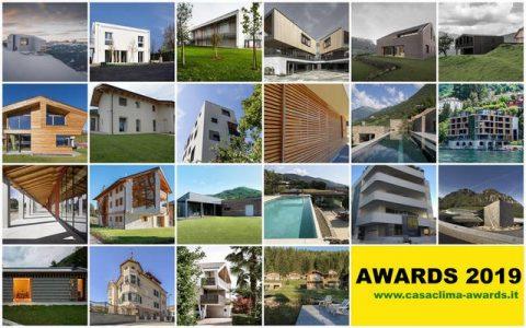 CasaClima Awards 2019, Bolzano 6 settembre 2019: aperte al pubblico le votazioni