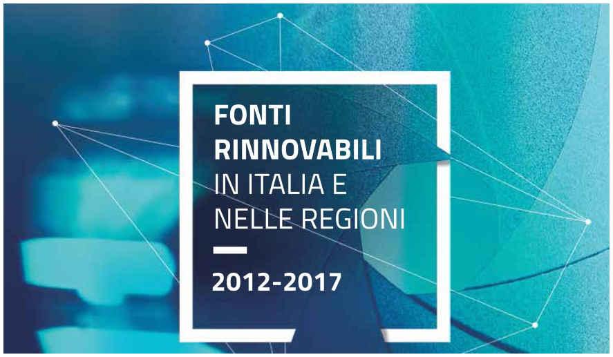 Rapporto 2019 Fonti rinnovabili in Italia e nelle regioni