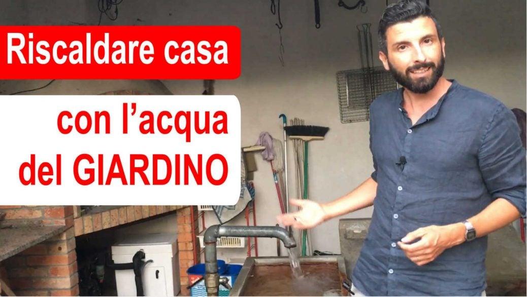 Geotermia: Riscaldare casa con acqua giardino