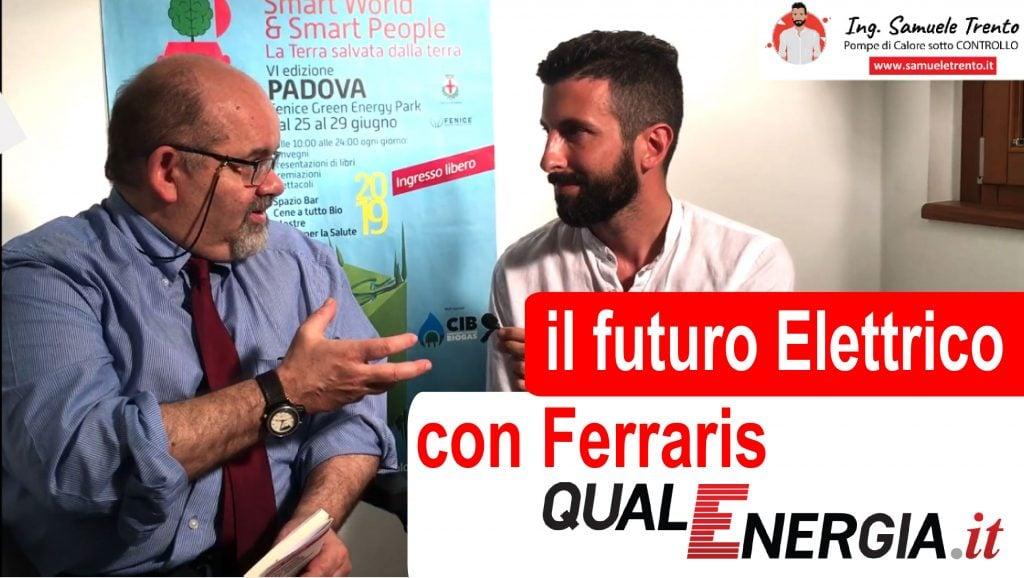 Video intervista con Sergio Ferrarir sirettore di QualEnergia