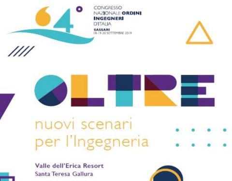 64° Congresso degli Ordini degli Ingegneri d'Italia, 18 al 20 settembre a Santa Teresa di Gallura
