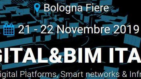 DIGITAL&BIM Italia, Bologna, 21-22 novembre 2019