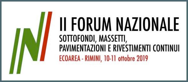 Forum Nazionale Massetti e pavimenti continui 2019