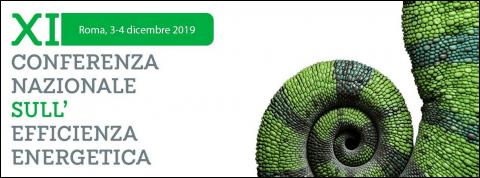 XI Conferenza nazionale sull'efficienza energetica, Roma 3-4 dicembre 2019