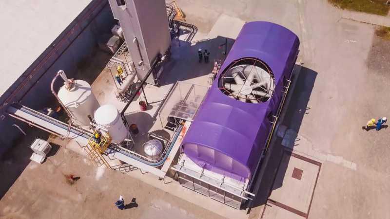 Carbon Engineering rimuove direttamente la CO2 dall'atmosfera