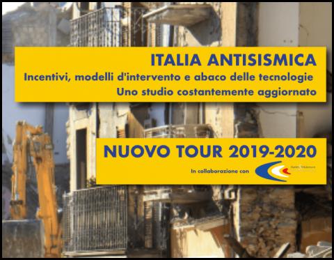Tour 2019/2020 Italia Antisismica