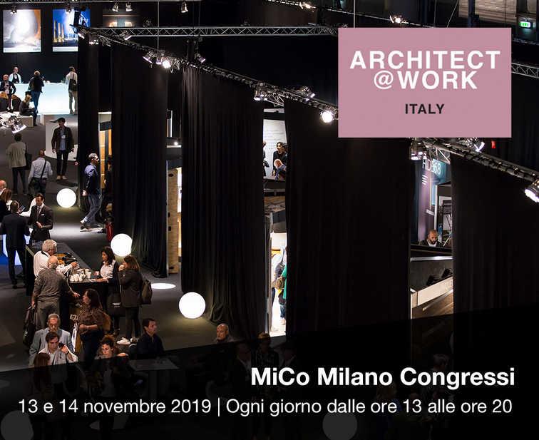 Sesta edizione di Architect@Work Milano