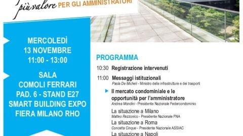 I finanziamenti per l'efficientamento – Stati generali del condominio, VII edizione, Milano, 13 novembre 2019