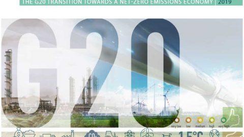 Il Rapporto Brown to Green 2019 sulle azioni del G20 per il clima