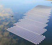 Impianto solare galleggiante costruito in sei settimane, nei Paesi Bassi