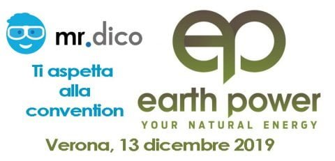 mr.dico alla convention Earth Power 2019, Verona, 13 dicembre 2019