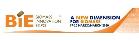 BIE 2020 Biomass Innovation Expo, Milano, 17 – 20 marzo 2020