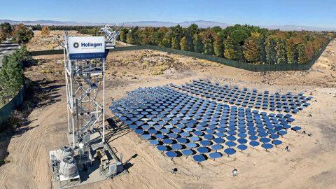 Heliogen ha raggiunto i 1000 gradi Celsius con il solare a concentrazione