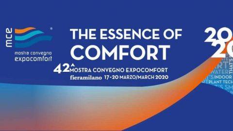 Mostra convegno Expocomfort, Milano, 17 – 20 marzo 2020
