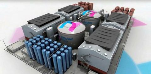 Aria liquida per stoccare l'energia rinnovabile