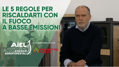 AIEL: 4 nuovi video sul riscaldamento a legna e pellet a basse emissioni