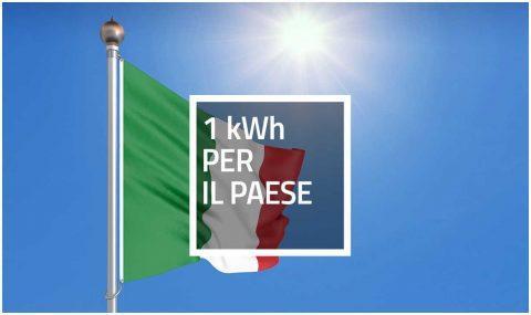 1 kWh per il Paese – Raccolta fondi del GSE e degli operatori del settore FER a sostegno della Protezione Civile