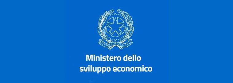 Logo MiSE Ministero sviluppo economico