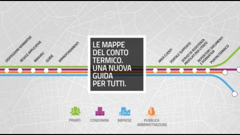 """Conto termico: il GSE pubblica on line le """"mappe"""""""