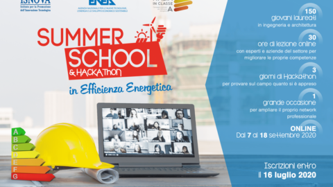 Summer School in Efficienza Energetica 2020