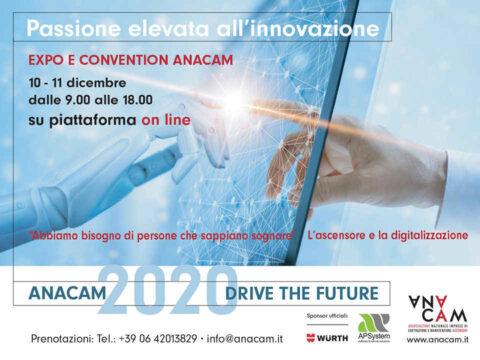 ANACAM 2020 ONLINE, 10 e 11 dicembre 2020