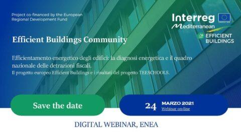 Efficientamento energetico degli edifici: la diagnosi energetica e il quadro nazionale delle detrazioni fiscali.