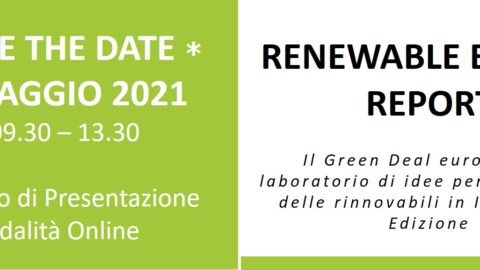 Presentazione Renewable Energy Report, 21 maggio 2021, 9:30-13:30