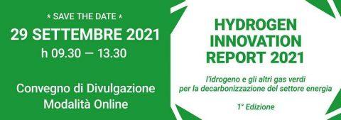 Hydrogen Innovation Report, Milano 29 settembre 2021