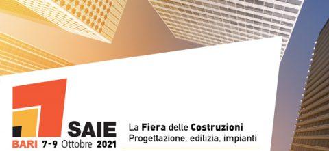 SAIE Bari 2021 torna in presenza dal 7 al 9 ottobre