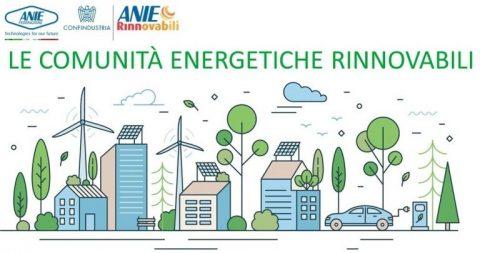 Le comunità energetiche rinnovabili, webinar ANIE, 30 settembre 2021 – ore 10:00